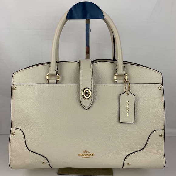 Coach Handbags - New Coach Mercer 30 Satchel in Grain Leather